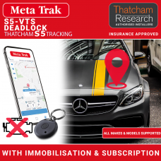 Meta Trak S5-VTS S5/CAT5 Deadlock Insurance Approved Tracker With Immobilisation and ID Tags Fully Fitted