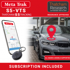 Meta Trak S5-VTS CAT5/S5 Insurance Approved Tracker With DRS ID Tags Fully Fitted