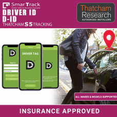 Smartrack D-ID S5/CAT5 SmartPhone Driver ID Thatcham Insurance Approved Tracker Fully Fitted