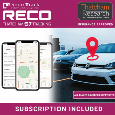 Smartrack Reco S7/CAT6 Thatcham Insurance Approved Tracker Fully Fitted