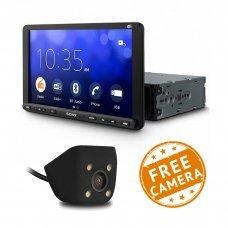 """Sony XAV-AX8050D DAB 9"""" Screen With Carplay/Android Auto & Weblink (Free Reversing Camera)"""