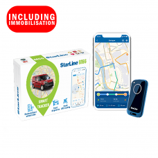 StarLine M66 Smart Tracking Security System With Immobilisation Fully Fitted