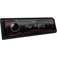 Kenwood KMM 204 Mechless Digital Media Receiver, Front USB and Aux Car Stereo