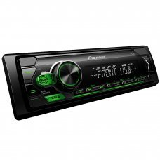 Pioneer MVH S110UBG Mechless Digital Media Receiver, Front USB and Aux Car Stereo