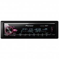 Pioneer MVH X580DAB Mechless AM/FM, Bluetooth, USB, DAB/DAB+ & Spotify Stereo Car Stereo