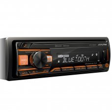 Alpine UTE 200BT Digital Media Receiver with Bluetooth AUX In USB iPod iPhone