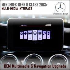 Adaptiv ADV-MB2 Mercedes Benz B Class 2013 (NTG 4.5) Factory OEM Multimedia SATNAV/USB/SD/AUX Upgrade