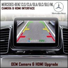 Adaptiv Mini ADVM-MB2 Mercedes Benz CLS/CLA/GLA/GLC/GLE/ML Class Factory OEM Screen HDMI/Front & Rear Camera Upgrade