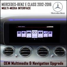 Adaptiv ADV-MB4.EU Mercedes Benz E Class 2012 - 2016 (NTG 4.5) Factory OEM Multimedia SATNAV/USB/SD/AUX Upgrade