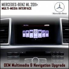 Adaptiv ADV-MB5 Mercedes Benz ML 2011> (NTG 4.5) Factory OEM Multimedia SATNAV/USB/SD/AUX Upgrade
