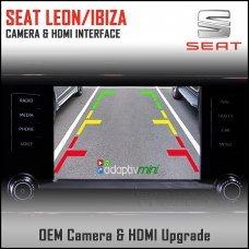 Adaptiv Mini ADVM-ST1 Seat Leon/Ibiza With Factory OEM Screen HDMI/Front & Rear Camera Upgrade