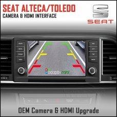 Adaptiv Mini ADVM-ST1 Seat Alteca/Toledo With Factory OEM Screen HDMI/Front & Rear Camera Upgrade