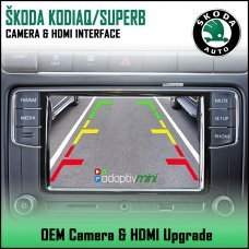 Adaptiv Mini ADVM-SK1 Skoda Kodiaq/Superb With Factory OEM Screen HDMI/Front & Rear Camera Upgrade