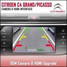 Adaptiv Mini ADVM-PSA1 Citroen C4 Grand Picasso/C4 Picasso With Factory OEM Screen HDMI/Front & Rear Camera Upgrade