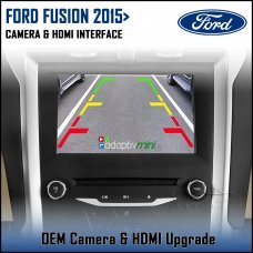Adaptiv Mini ADVM-FD1 Ford Fusion 2015> with Sync 3 Factory OEM Screen HDMI/Front & Rear Camera Upgrade