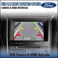 Adaptiv Mini ADVM-FD1 Ford Flex/Escape/Expedition/Explorer 2018> with Sync 3 Factory OEM Screen HDMI/Front & Rear Camera Upgrade