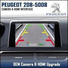 Adaptiv Mini ADVM-PSA1 Peugeot 208/508/3008/5008 With Factory OEM Screen HDMI/Front & Rear Camera Upgrade