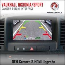 Adaptiv Mini ADVM-GM1 Vauxhall Insignia 2013>/Grand Sport 2017> Factory OEM Screen HDMI/Front & Rear Camera Upgrade