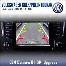 Adaptiv Mini ADVM-VW1 Volkswagen Golf/Polo/Touran Factory OEM Screen HDMI/Front & Rear Camera Upgrade