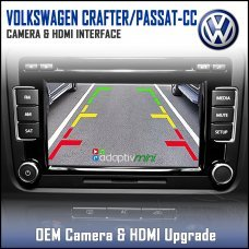 Adaptiv Mini ADVM-VW1 Volkswagen Crafter/Passat-CC Factory OEM Screen HDMI/Front & Rear Camera Upgrade