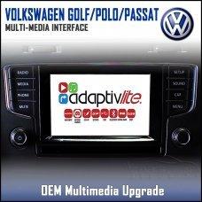 Adaptiv Lite ADVL-VW1 Volkswagen Golf/Polo/Passat 2015> Factory OEM Multimedia HDMI/USB/SD/AUX Upgrade