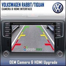 Adaptiv Mini ADVM-VW1 Volkswagen Rabbit/Tiguan Factory OEM Screen HDMI/Front & Rear Camera Upgrade